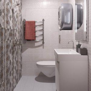 вариант планировки квартиры-студии