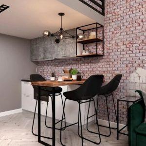 квартира-студия планировка на проспекте Бакунина 2